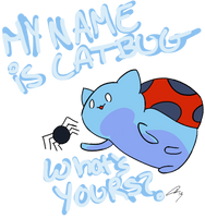Hi, My Name is Catbug! by Spufflez