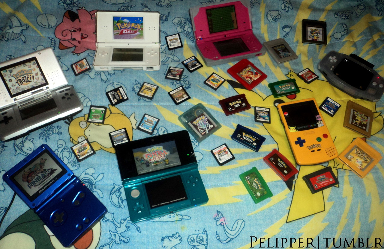 Let's Play Pokemon! by Spufflez