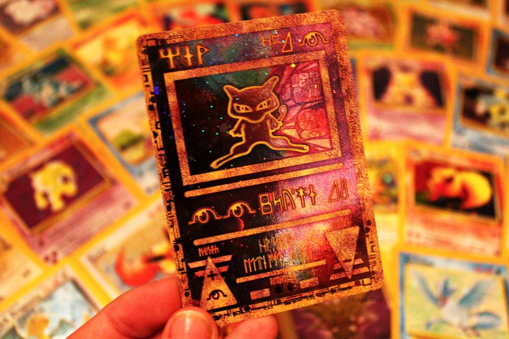 Mew Pokemon Card by Spufflez