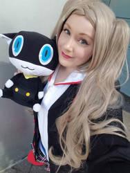 Ann Takamaki and Morgana (Persona 5)