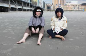 Kiba and Hinata - Beach Trip