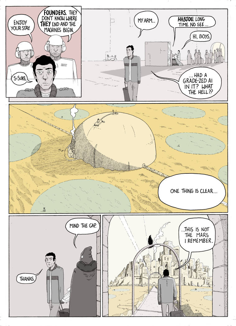 Settlers (Page 8) - A different Mars by Motospike