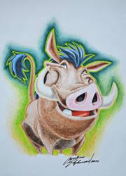 The Lion King - Pumba by JuniorGibbs