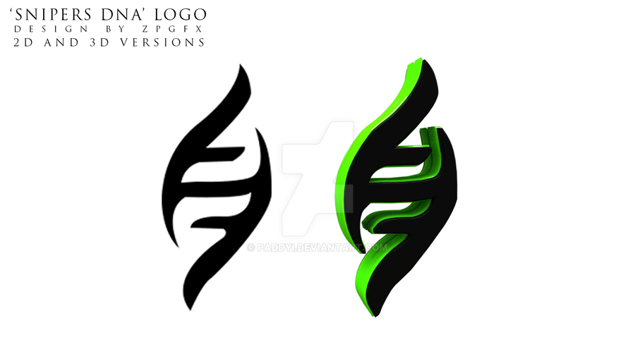 DNA Logo by PADDYi