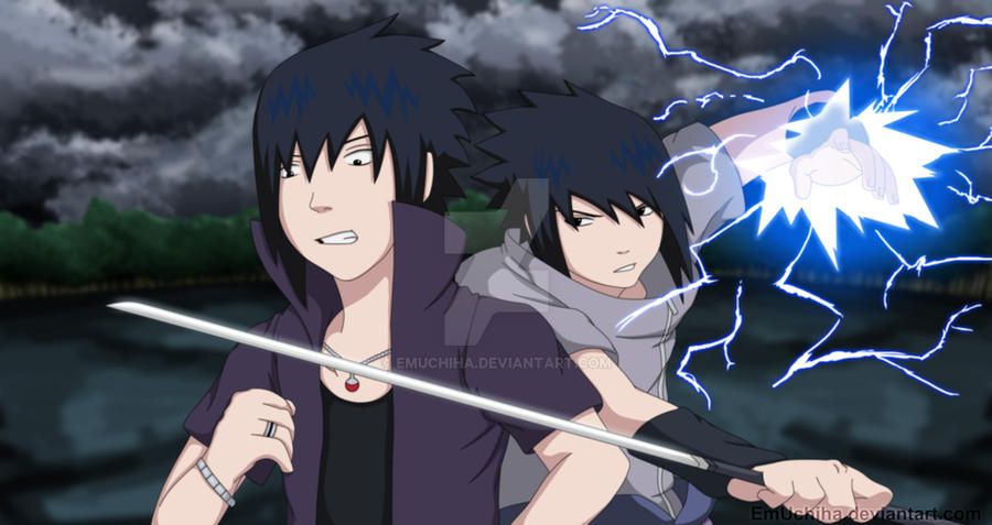 sasuke vs sasuke road to ninja by emuchiha on deviantart