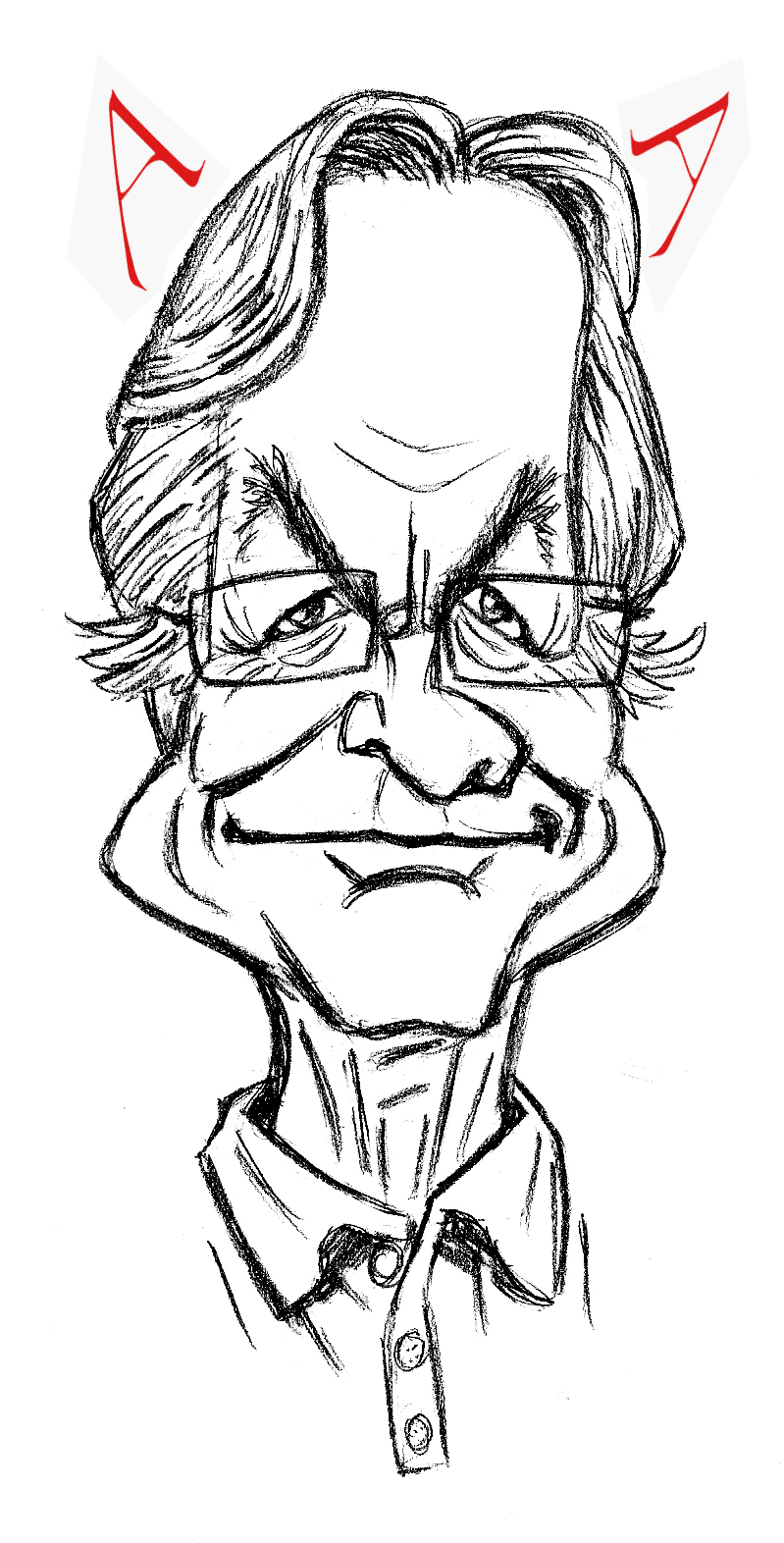 Richard Dawkins by SamSaxton