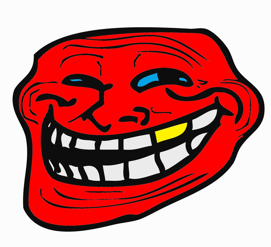 red troll face
