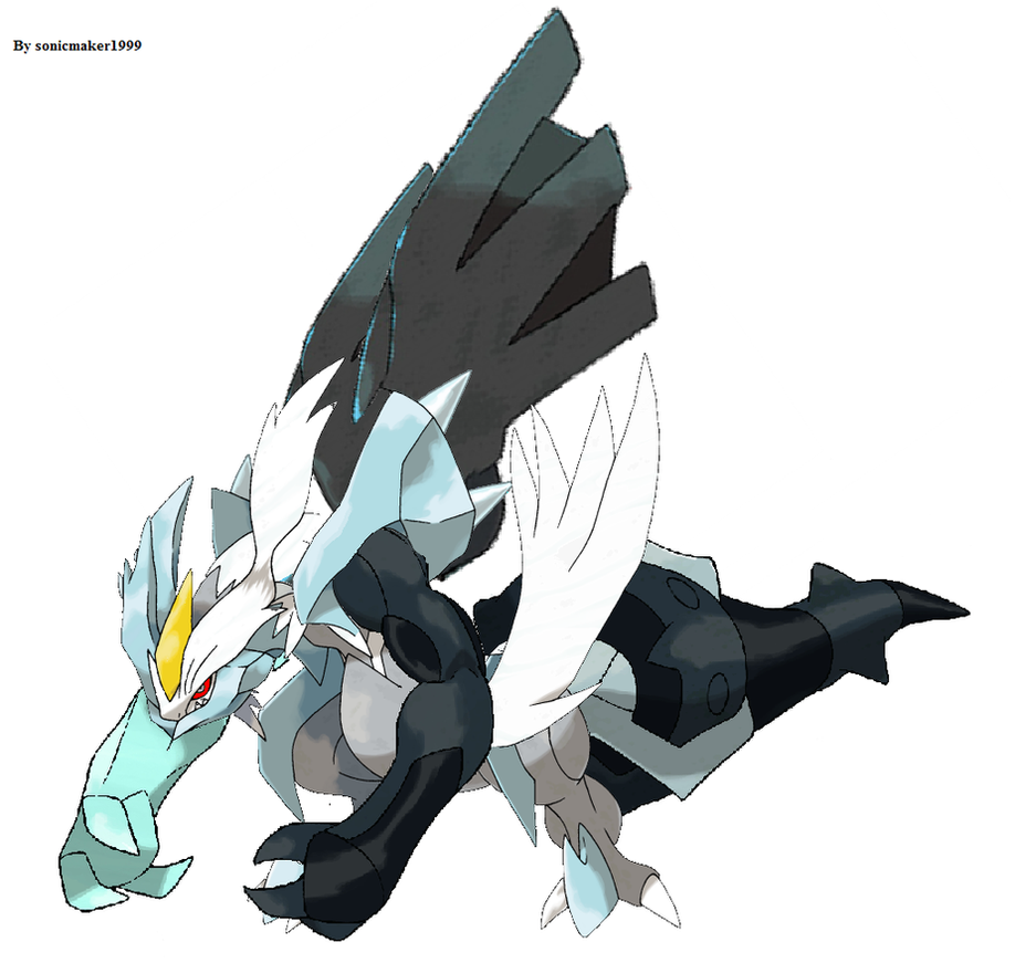 Zekrom kyurem and reshiram combined by sonicmaker1999 on ...
