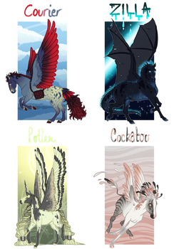 adopt batch | feathered friends | 1 available