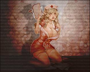 Tetsa Nurse Collab by ZeeeClown