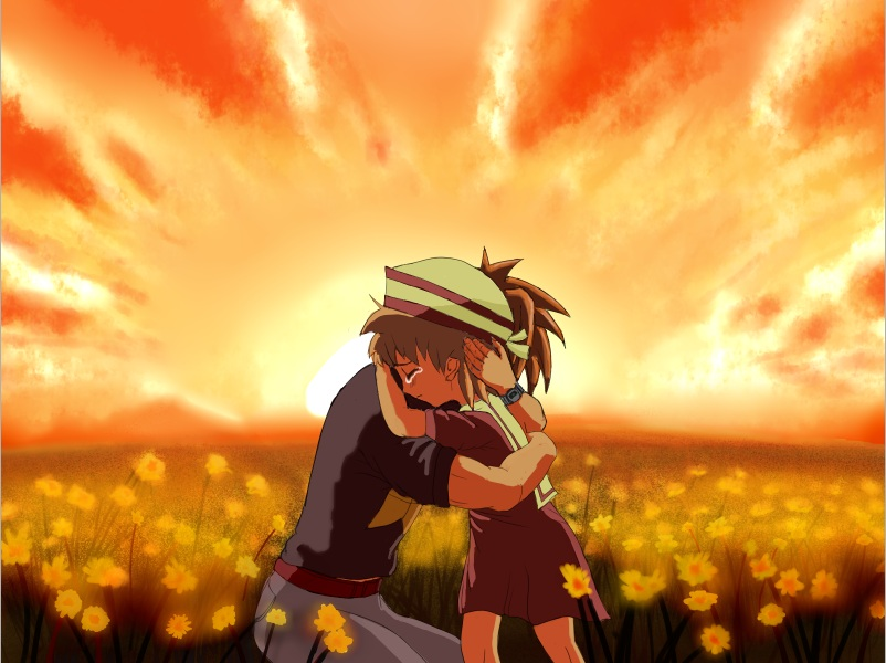 Tomoya Okazaki With Ushio Clannad By Napalm33rus On Deviantart