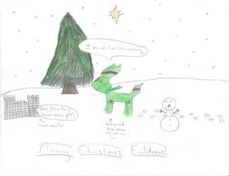 Secret Santa for EvilDraws by Noblejanobii