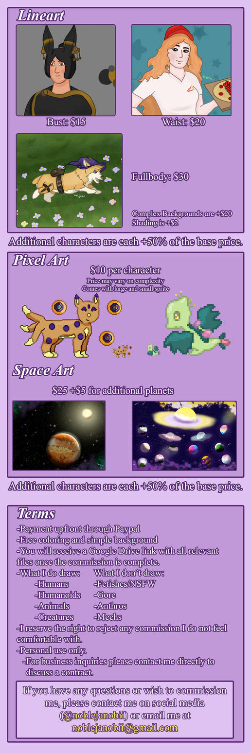 Commission Info Updated May 2020