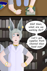 Lucky's Travels Chapter 1 Page 3