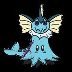 (Adopt) Vaporeon Mimikyu by Noblejanobii