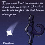 Happy Birthday Mewtwo by Noblejanobii