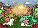 Updated Pokerap Project: Shaymin Land Forme by Noblejanobii