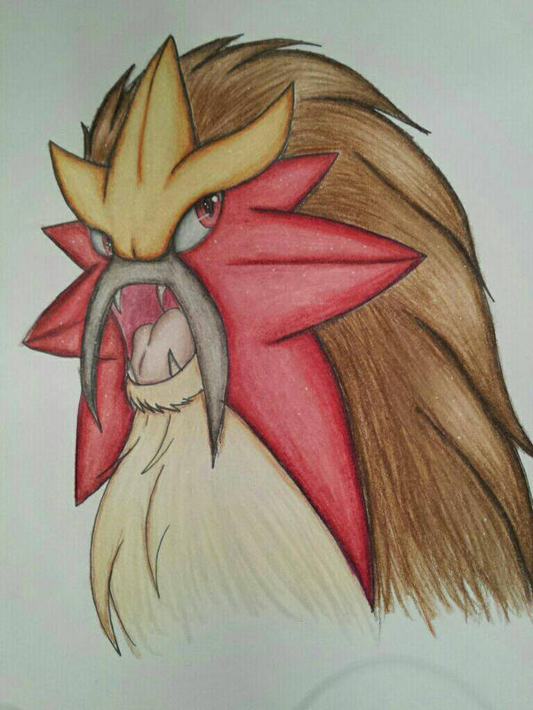 Entei by TheDaughterOfLink
