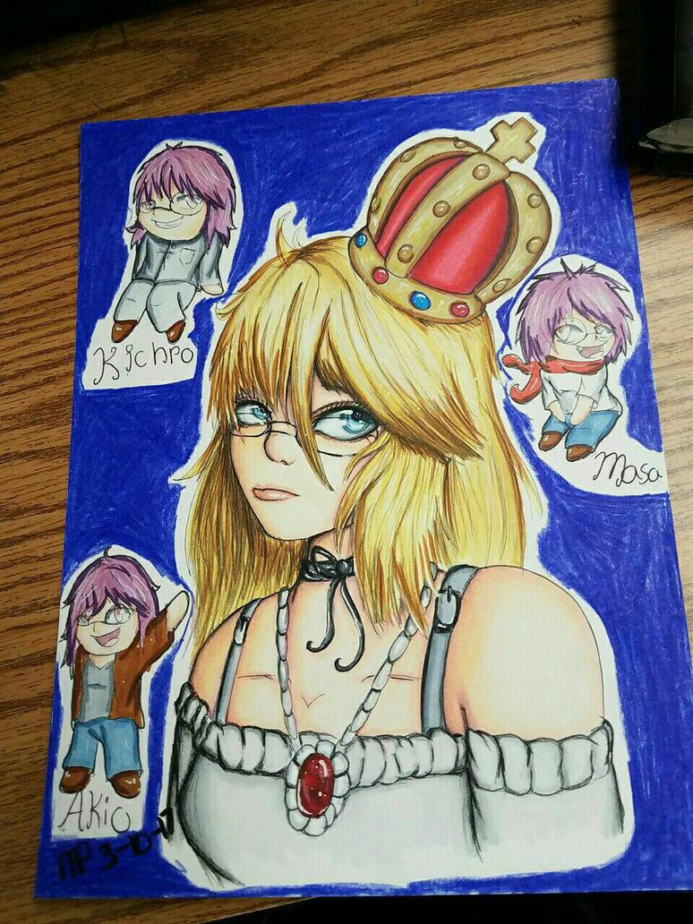 Queen Mindi Togami  by AzziranArts