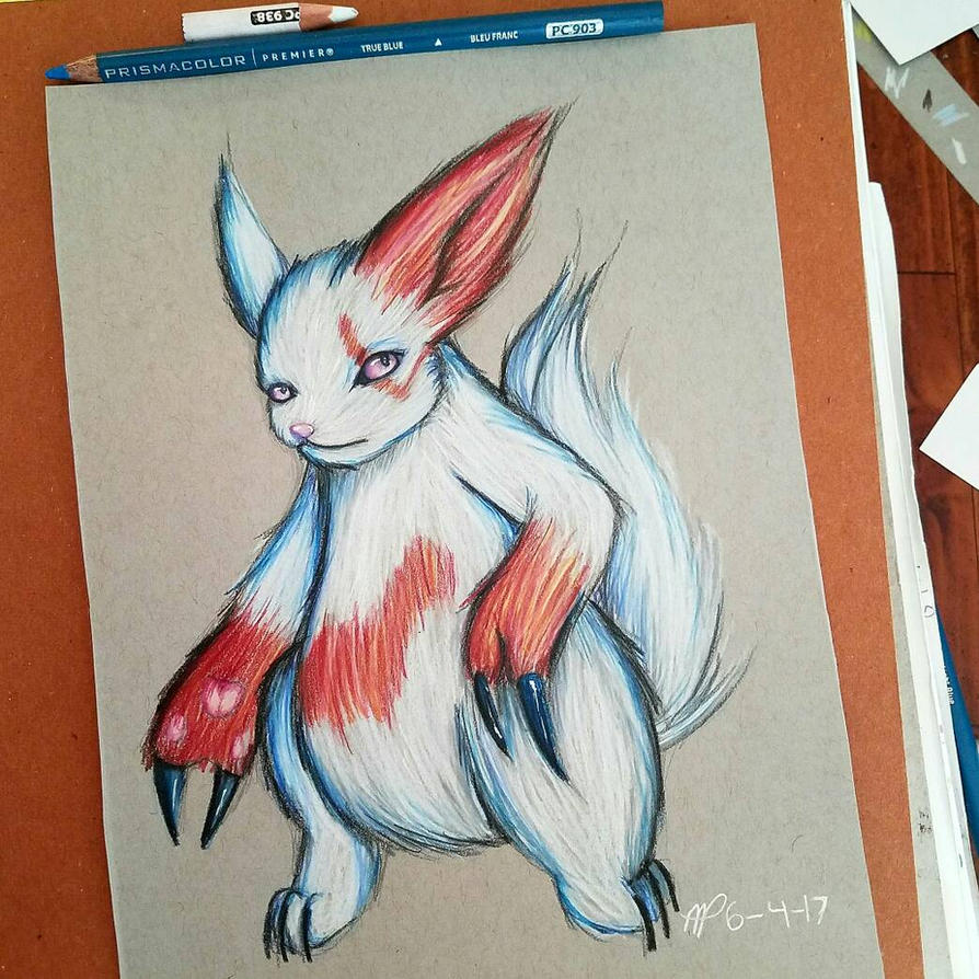 Zangoose (Pokemon) by AzziranArts