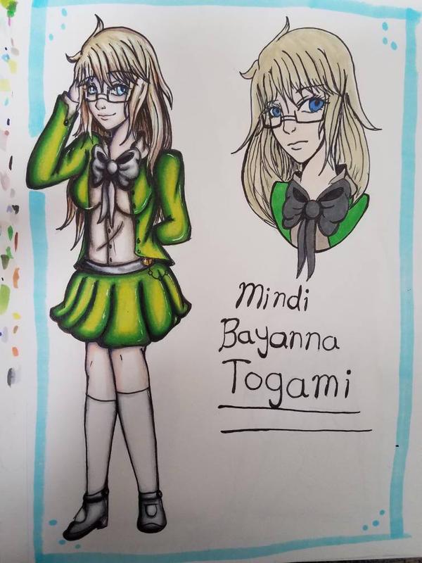 Mindi Bayanna Togami (Danganronpa next gen) by AzziranArts
