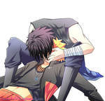 [SPEEDPAINT] NS: NaruSasu-kiss