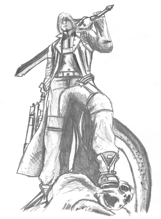 Devil may cry drawings