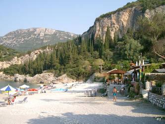 Beach Liapades Korfu by callmenotwo