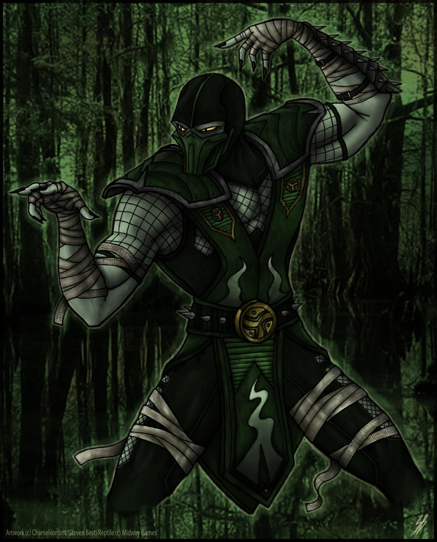 Mortal Kombat Sub Zero By Sherawat Deviantart Com On