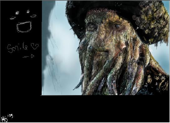 Davy Jones Babehh by Wu-doidah