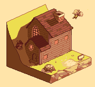Pixel House by Tuyoki