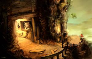 Some cliffs by Tuyoki