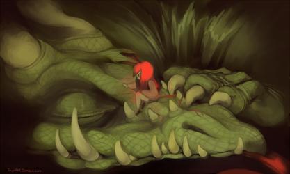 Pet Dragon by Tuyoki