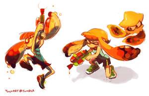Splatoon by Tuyoki