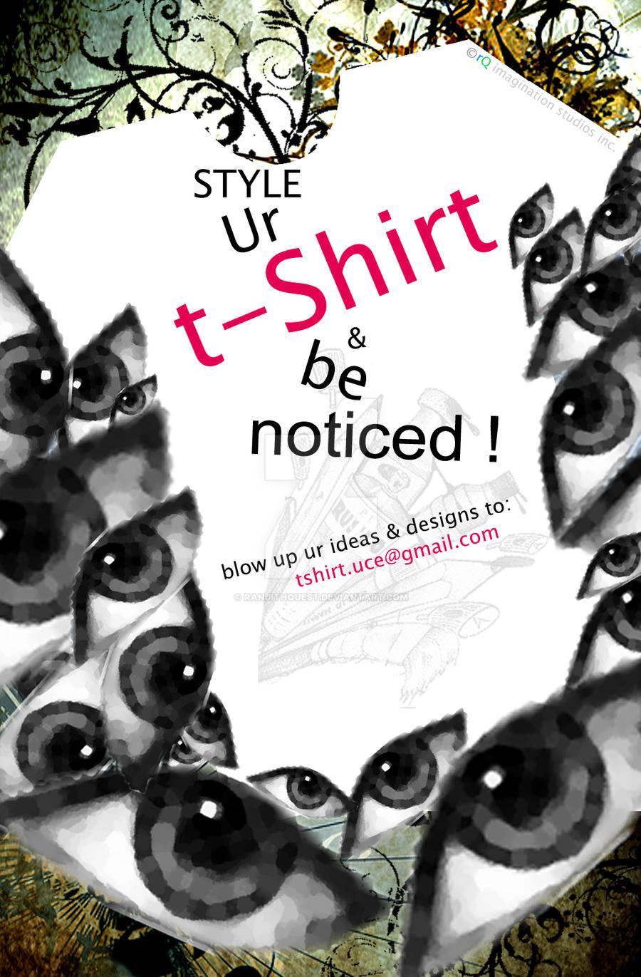 T shirt poster design -  T Shirt Design Poster By Ranjithquest