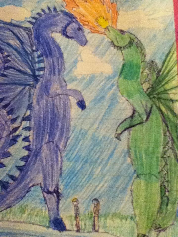 Firnen and Saphira 2 by elizabethfun18