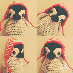 Penguin amigurumi by astridje