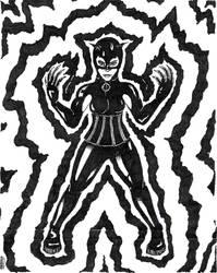 Kay Lynn As Catwoman by xela-ogerrob