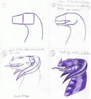 How To: Dragon by creepygoth666