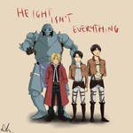 Height isn`t everything