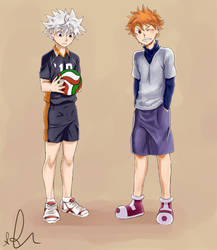 Hunter x Hunter/Haikyuu!! crossover by Sango94