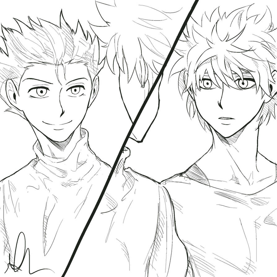 Hey Killua, it's been a while by Sango94