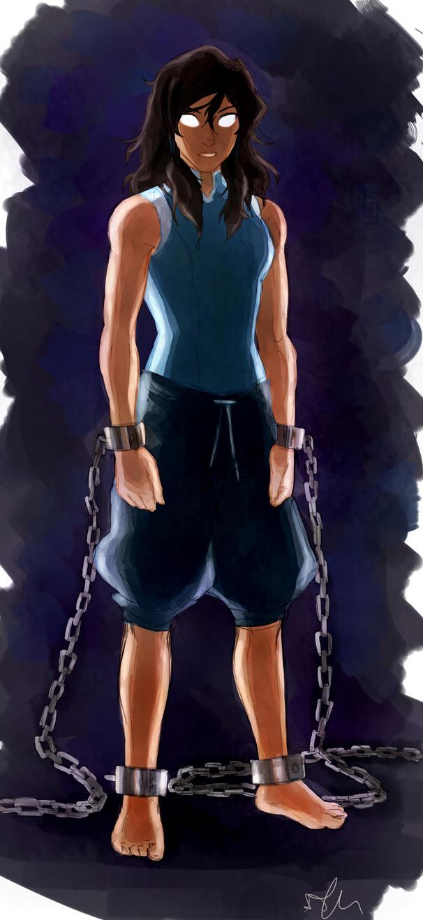 Avatar State - Korra by Sango94