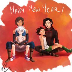 Happy new year! by Sango94