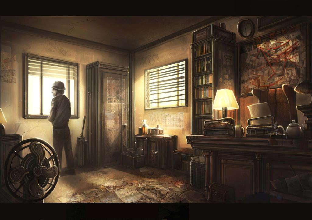 Detective Office By Gremlincat On Deviantart