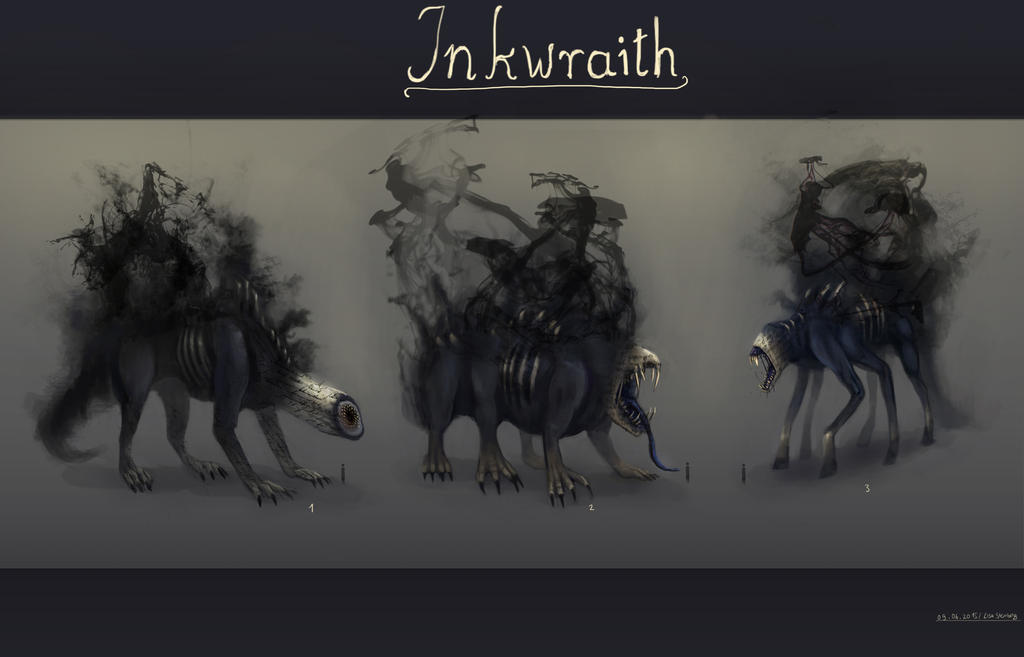 Inkwraith by GremlinCat