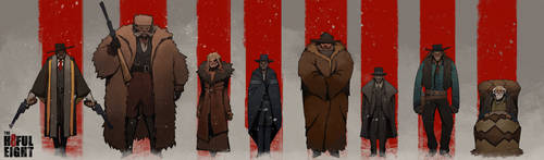 The Hateful Eight by noodleli