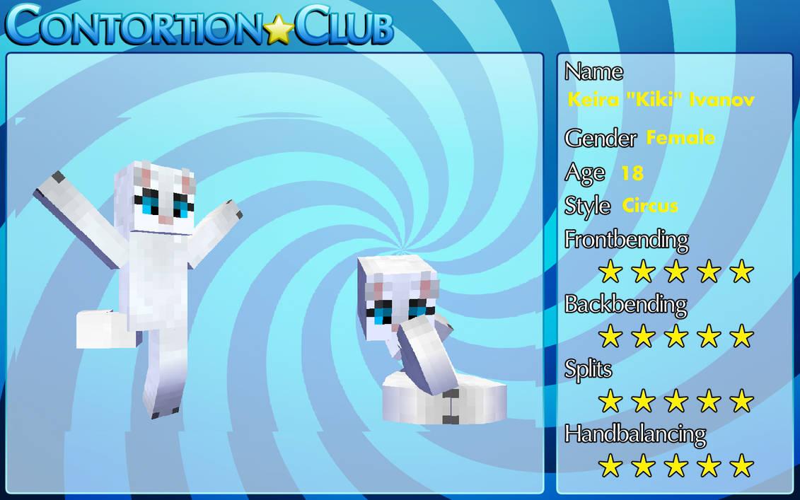 Keira ''Kiki'' Ivanov ContortionClub profile
