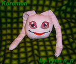 koromon plush by TynoKamimara