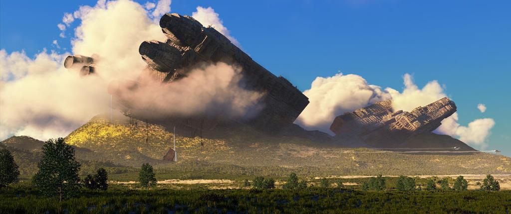 Kalinti Selalesi (Wreck Waterfall) V 2 by KadriOzel